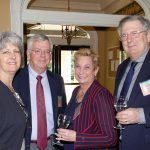 Suzanne Taranto, Peter Riemer, and Elizabeth & Richard Gilbert