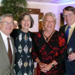 Ed and Ilene Lowenthal, Cathy and Warren Cooke