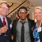 Warren Cooke, Stefon Harris, Cathy Cooke