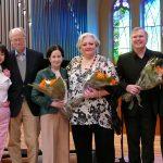 Inmo Parloff, Gary & Beth Glynn, Stephanie Blythe, Craig Terry, and Michael Parloff